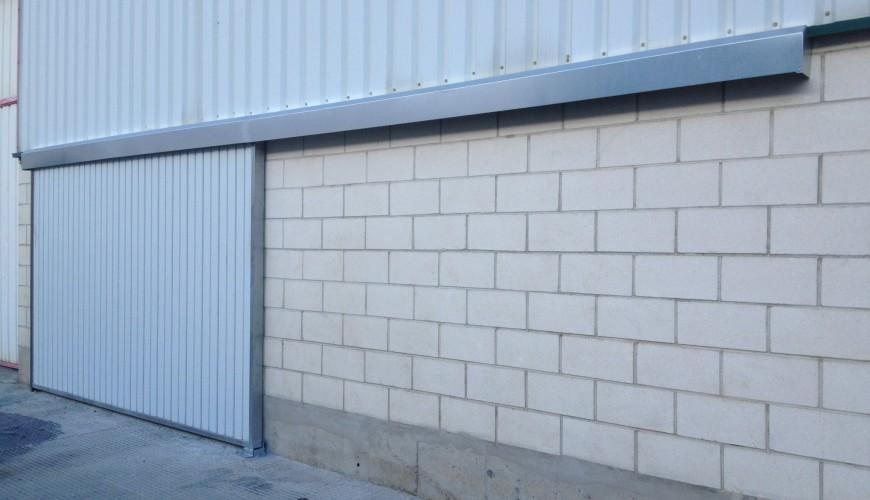 Puertas industriales correderas puertas arriazu - Puertas para naves industriales ...